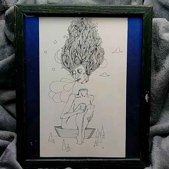 Indie Ink Drawing